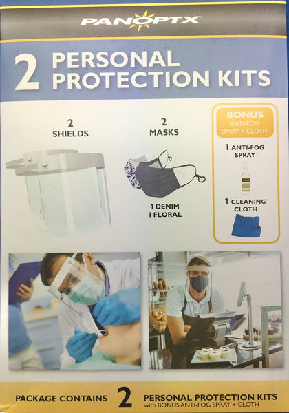 2 Personal Protection Kits