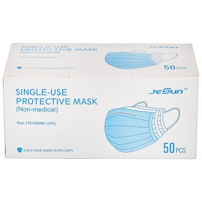 Single Use Protective Masks Package of 50