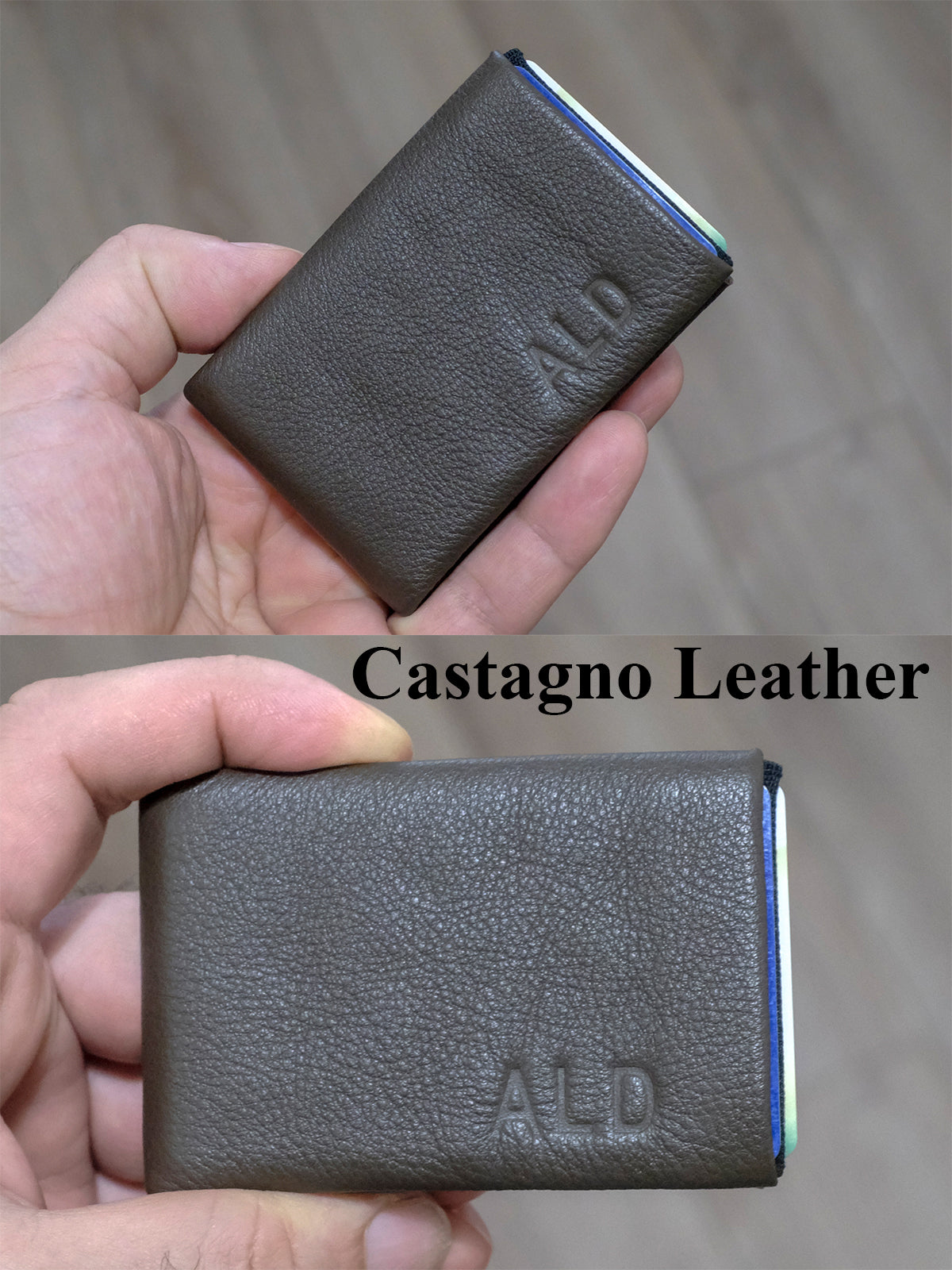 Minimalist Wallet  -  RFID protection 3 +2 - NERO Minimalist Wallet