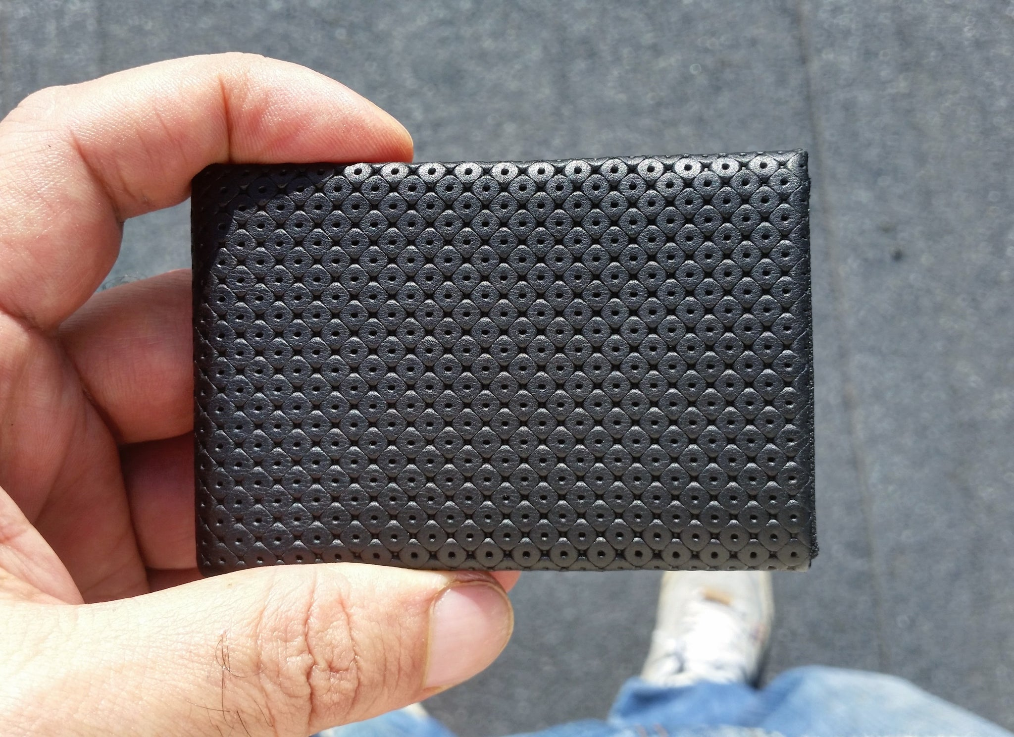 01 Design Pattern Leather - WITHOUT RFID PROTECTION