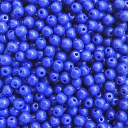 Royal Blue Glass Bead