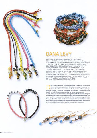 The Best Joyas Magazine featuring Dana Levy Jewellery 2017 Collection