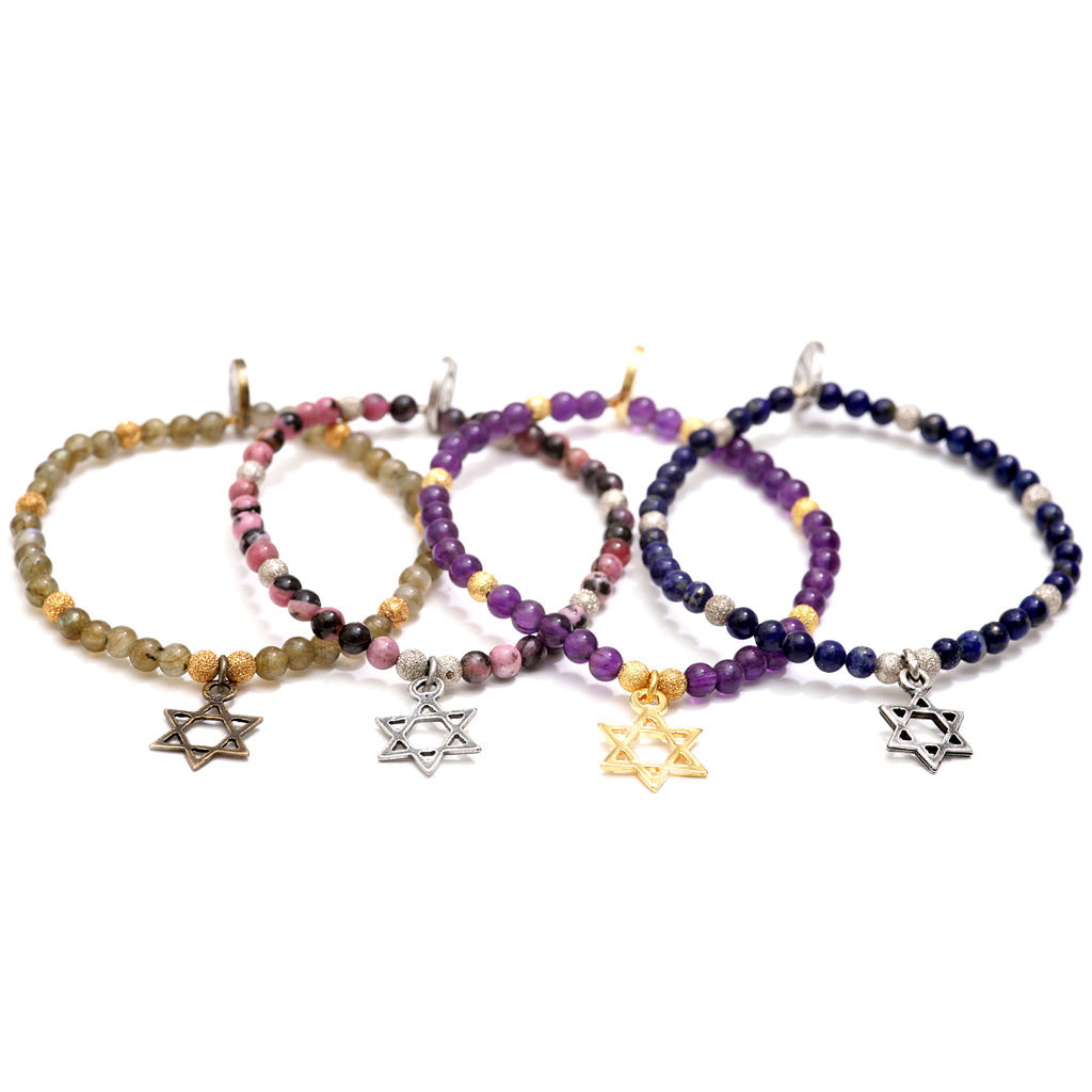 s bracelet elegant collections products michael jewellery chakra elasticated gemstone bracelets natural