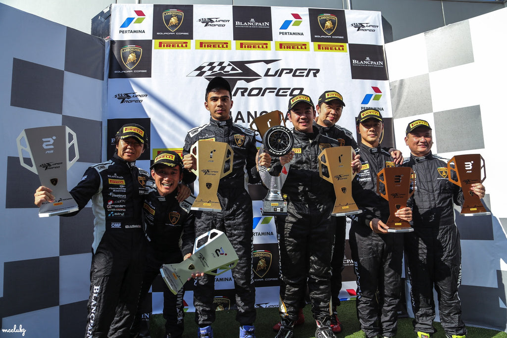 4-DAYS 3-NIGHTS IN SHANGHAI FOR DARWIN'S DEBUT RACE IN THE LAMBORGINI SUPER TROFEO SERIES