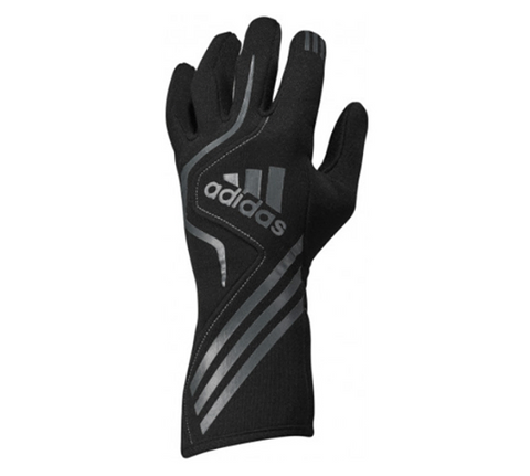 ADIDAS RS RACE GLOVES - BLACK/GRAPHITE