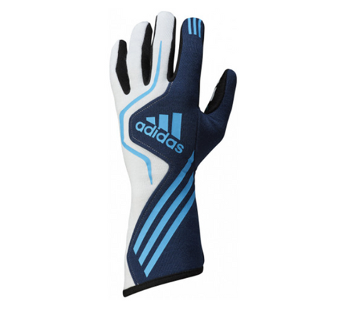 ADIDAS RS RACE GLOVES - BLUE/WHITE/NAVY