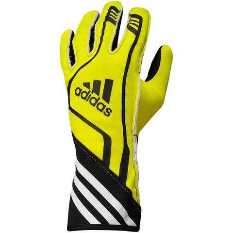 ADIDAS RSR RACE GLOVES - FLURO YELLOW/BLACK