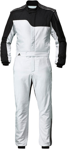 ADIDAS RS CLIMALITE® RACE SUIT - Silver/Black