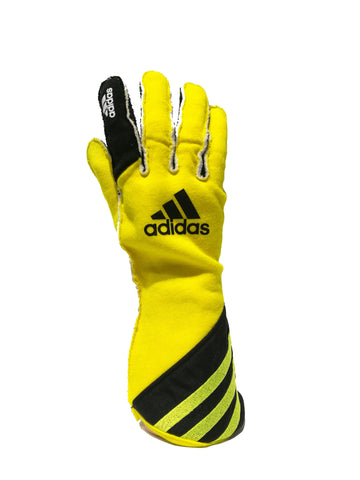 ADIDAS ADISTAR FLURO YELLOW LIMITED EDITION RACE GLOVES
