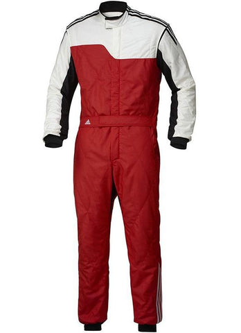 ADIDAS RS CLIMALITE® RACE SUIT - Red/White