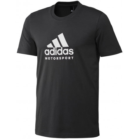 ADIDAS MOTORSPORT TEE BLACK/WHITE