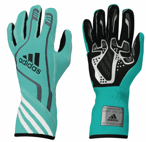 ADIDAS TIFFANY BLUE LIMITED EDITION RACE GLOVES