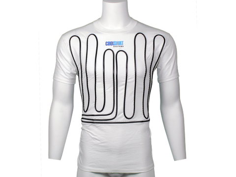 COOLSHIRT - WHITE COOL WATER SHIRT - DRIVER COOLING