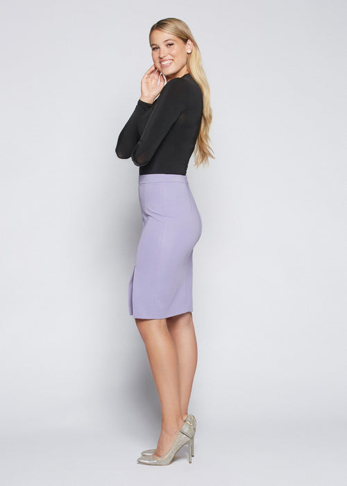 Jennifer skirt lilac side view.