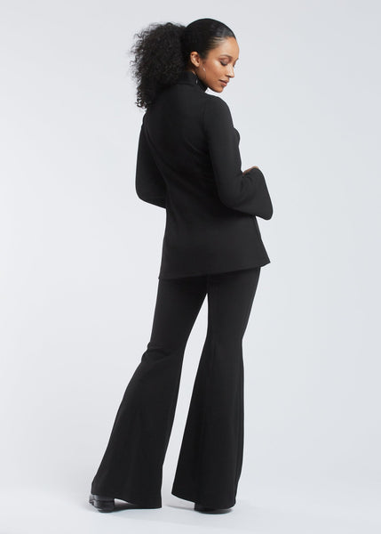 Mia trousers black back view.