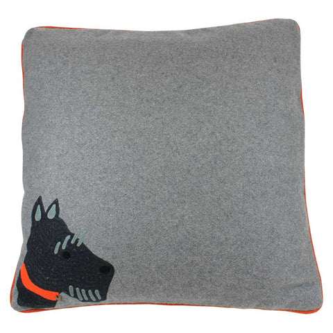 Beth Jordan Cushion Diggery Grey 60x60cm