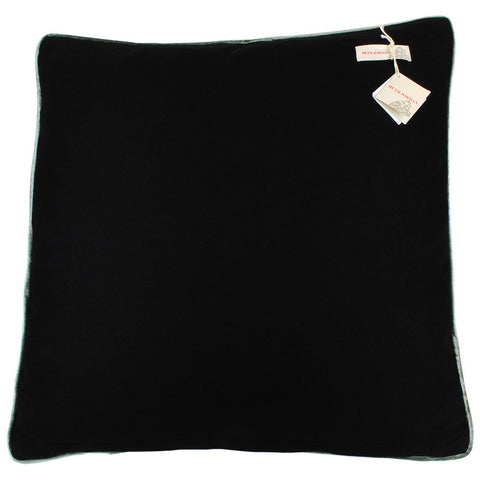 Beth Jordan Cushion Henry Black 60x60cm