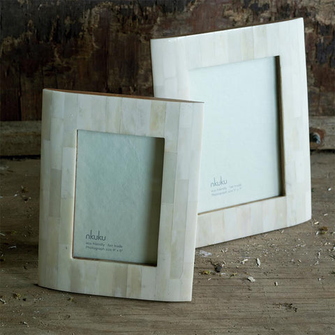 Nkuku Amaro Bone Photo Frame