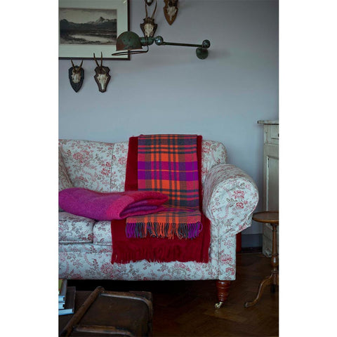 Avoca Lambswool Throw Dingle