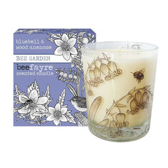 Beefayre Bluebell & Wood Anemone Large Scented Candle