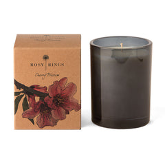 Rosy Rings Botanical Glass Candle - Cherry Blossom 85Hr