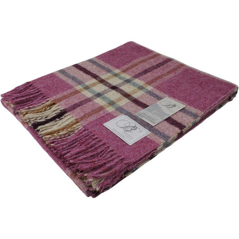 Bronte Throw Shetland Arncliffe - Berry