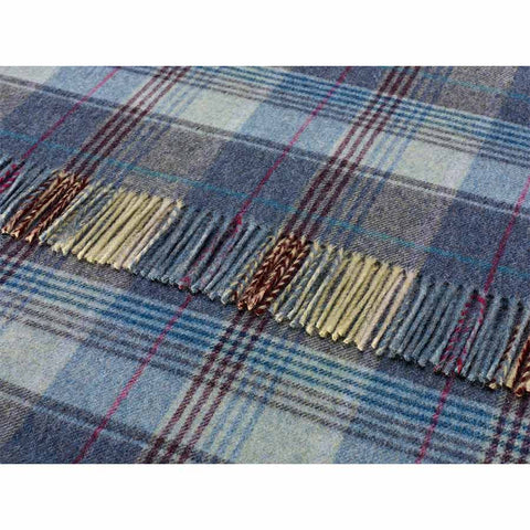 Bronte By Moon Throw Country House Huntingtower Blue