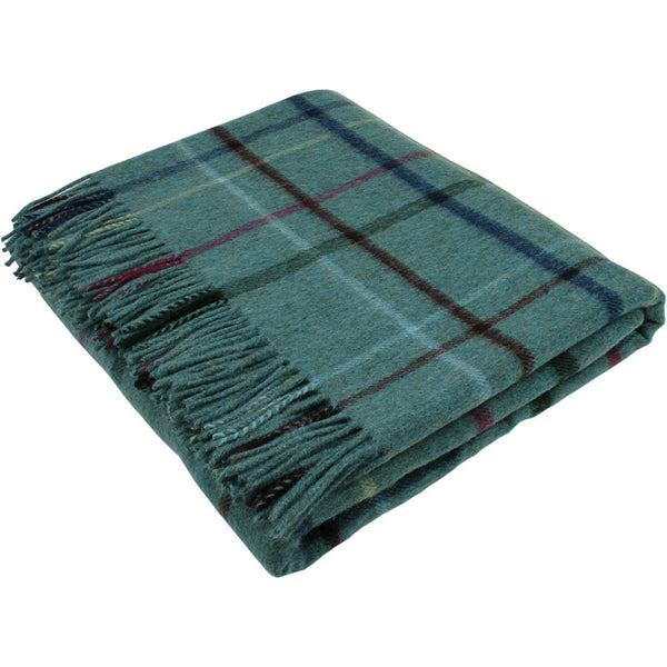 Bronte By Moon Throw Country House - Litton Aqua