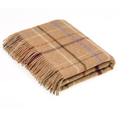 Bronte By Moon Throw Country House Litton Camel