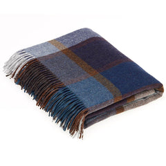 Bronte By Moon Throw Country House - Pateley Blue