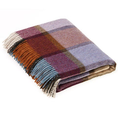 Bronte By Moon Throw Country House Pateley Damson