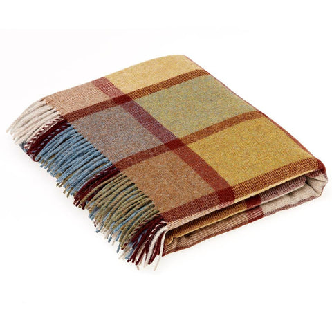 Bronte By Moon Throw Country House - Pateley Ochre