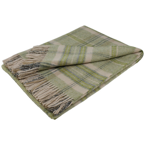 Bronte By Moon Throw Heather Check Apple