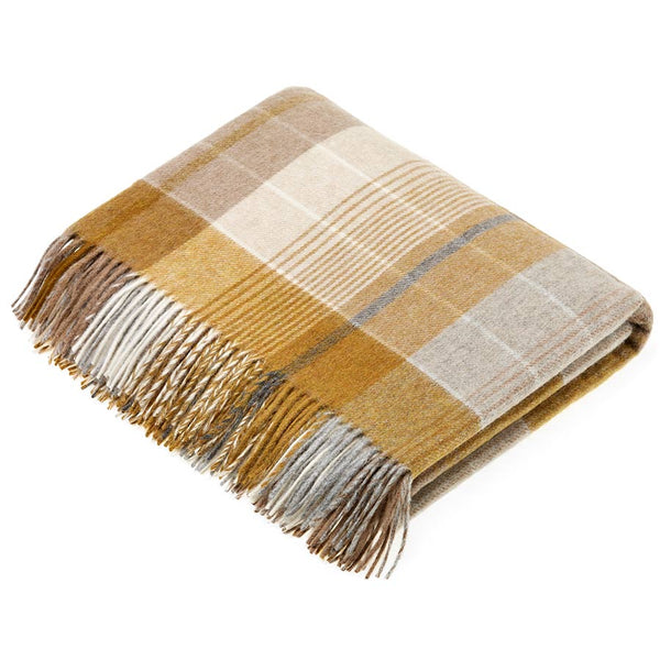 Bronte By Moon Florence Gold Throw