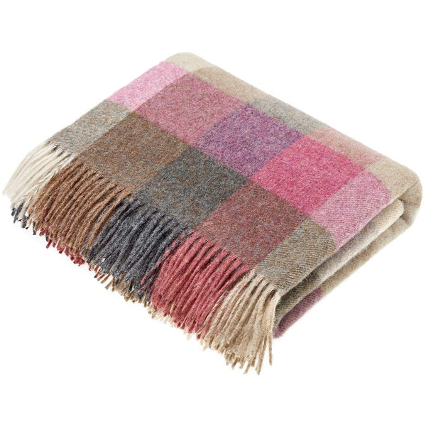 Bronte By Moon Harlequin Heather Throw