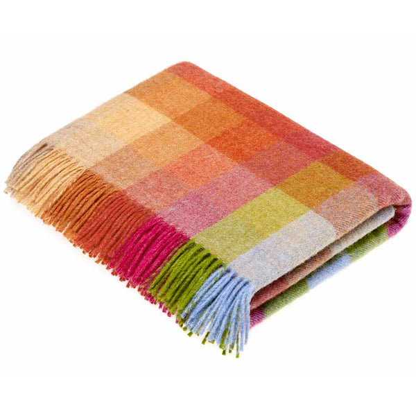 Bronte By Moon Harlequin Sunshine Throw