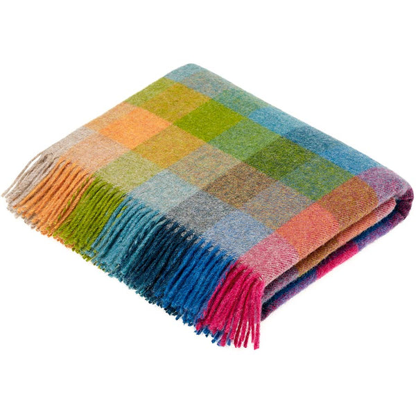 Bronte By Moon Harlequin Tutti Frutti Throw