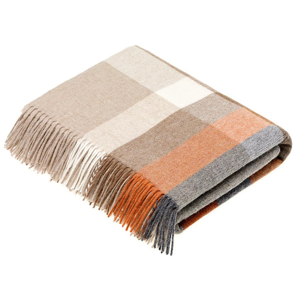 Bronte By Moon Harley Stripe Saffron Throw