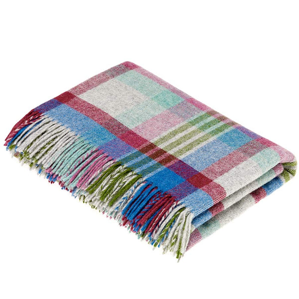 Bronte By Moon Melbourne Thistle Pure New Wool Throw