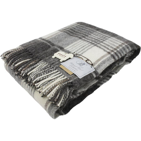 Bronte Throw Huntingtower Brown Natural Collection