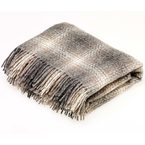 Bronte Throw Ombre Brown Natural Collection
