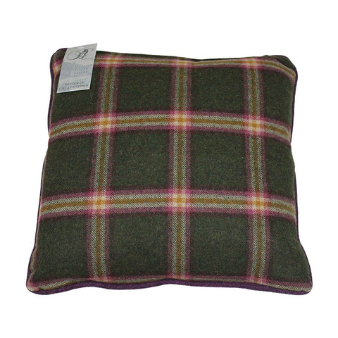 Bronte Cushion Hetton/Settle 43x43cm Green