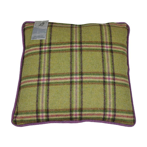 Bronte Cushion Ingleton/Settle 43x43cm Lime