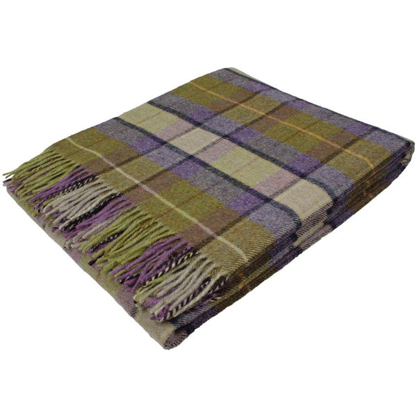 Bronte Throw Gargrave Check Lilac