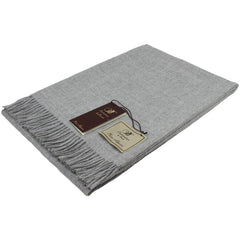 Bronte Throw Alpaca Natural Grey