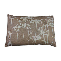 Helkat Cow Parsley Cushion Stone - 61x40cm