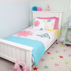 Daisy Floral Duvet Set - Single