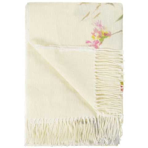 Designers Guild Throw Palissy Camellia