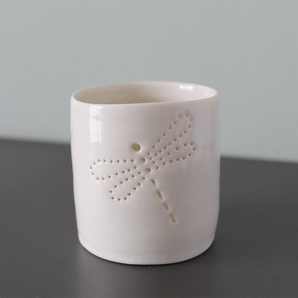 Luna Lighting Mini Tea Light Holder - Dragonfly