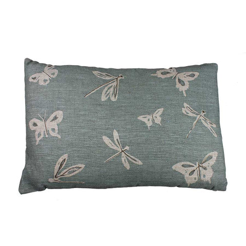 Helkat Dragonfly & Butterfly Cushion - 61x40cm